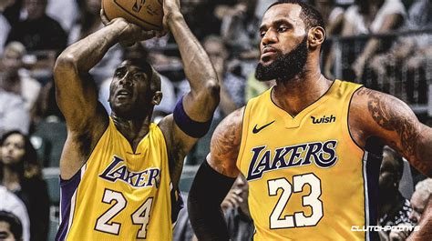 lakers news lebron james quietly moved  kobe bryant