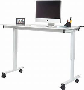 Wie Lange Liefert Ups : bewertung stand up desk h henverstellbarer tisch wei variante 2 150cm 2018 ~ Watch28wear.com Haus und Dekorationen