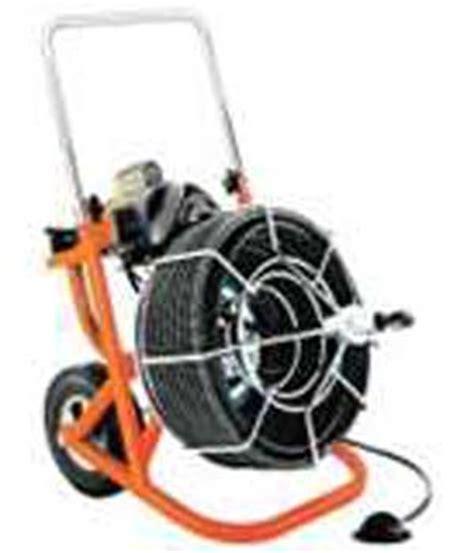 100 ft plumbing snake electric sewer snake rental 100 ft hallman equipment rental