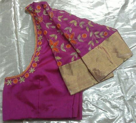 uppada pattu blouse with maggam work 7702919644 designer blouses blouse designs