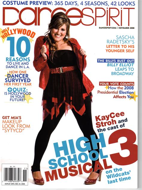 magazine cover price dance spirit magazine