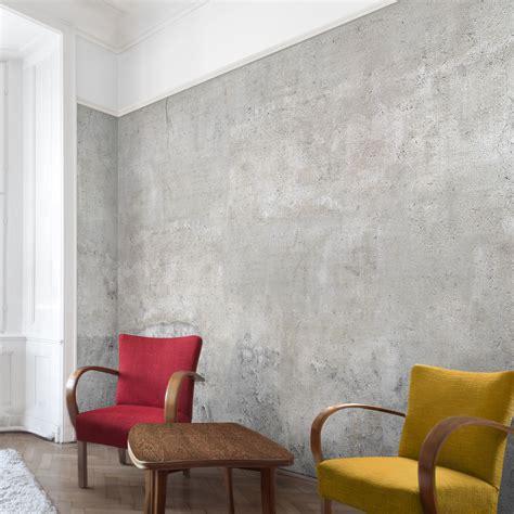 tapeten beton design carta da parati effetto cemento larga effetto cemento shabby