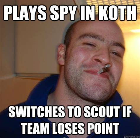 Voyeur Meme - plays spy in koth switches to scout if team loses point misc quickmeme