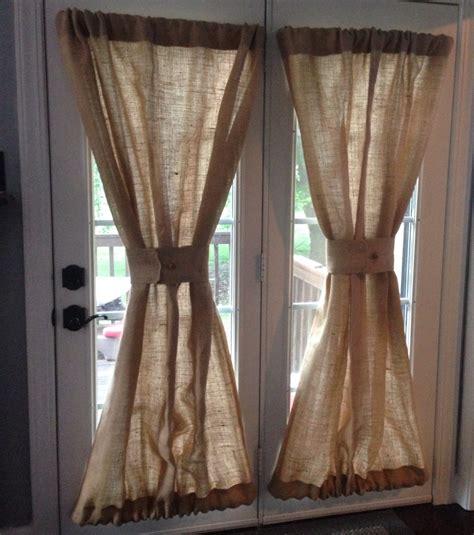 decorations burlap window treatments  cute interior