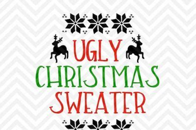 1400 x 933 png 1506 кб. Download Ugly Christmas Sweater Reindeer Snowflakes SVG ...