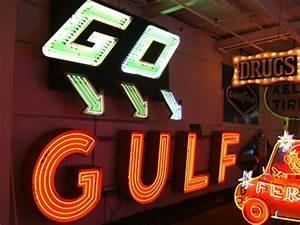 GO GULF American Sign Museum Cincinnati OH Neon