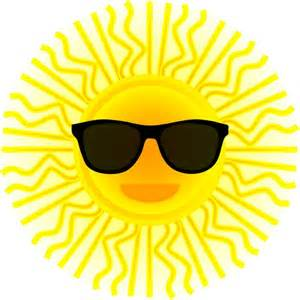 sun with sunglasses free vector in open office drawing svg