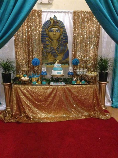 egyptian baby shower party ideas photo    catch