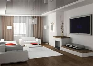White Contemporary Living Room Ideas : Contemporary Living ...