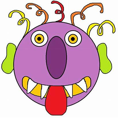 Monster Silly Clipart Clip Monsters Digital Cliparts