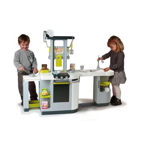 grande cuisine kidkraft smoby cuisine enfant loft grise achat vente dinette
