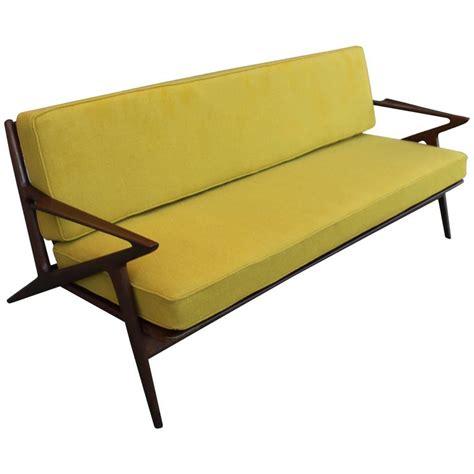 mid century modern sculptural poul z sofa for sale