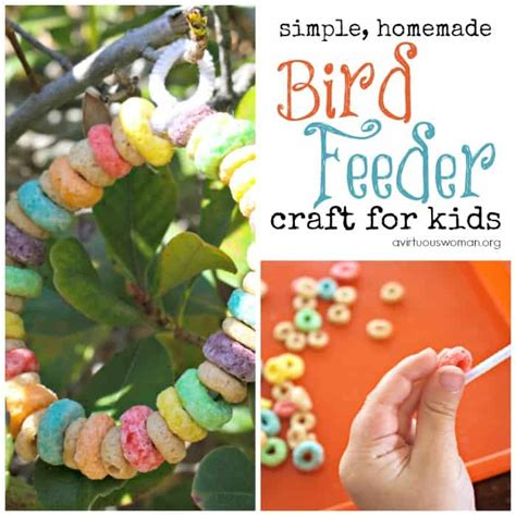 preschool bird feeder craft a virtuous 729 | preschool bird feeder craft