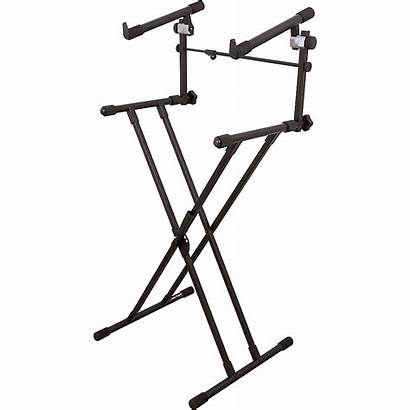 Stand Keyboard Tier Deluxe Stands Stage Walmart