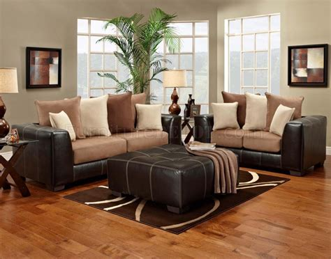 modern sofa and loveseat sets saddle fabric brown vinyl modern sofa and loveseat set