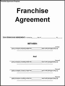 4+ sample franchise agreementReport Template Document ...