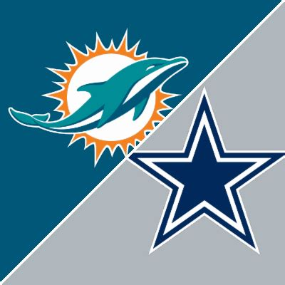 dolphins  cowboys game summary september