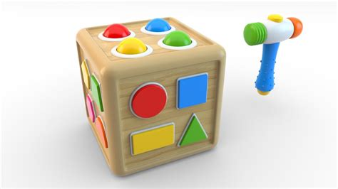 learn shapes  wooden educational toys colors