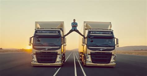 what s the new volvo commercial about jean claude van damme this new volvo diesel truck ad is