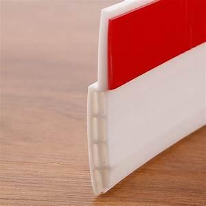 Porte Anti Bruit : 1m bas de porte adh sif silicone blanc bande d 39 tanch it ~ Premium-room.com Idées de Décoration
