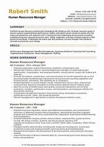 Summary Skills Examples Human Resources Manager Resume Samples Qwikresume