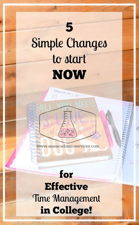 5 Simple Changes To Start Now For Effective Time