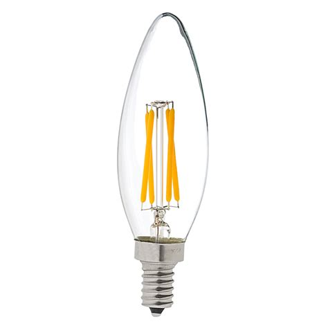 b10 led filament bulb 35 watt equivalent led candelabra