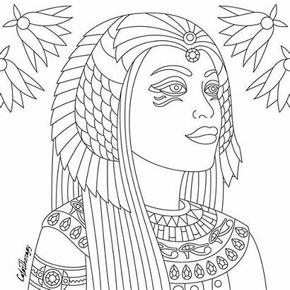 Coloring Colorfy Pages Egypt Today Pattern Start