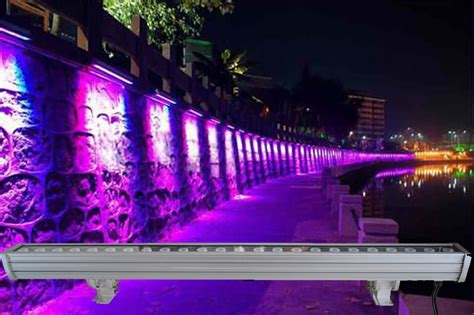 6pcs led bar with 24pcs 3w tri color 3in1 l led wall washer light wash light dmx free