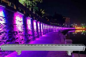 Rgb Wall Lights 6pcs Led Bar With 24pcs 3w Tri Color 3in1 Lamp Led Wall