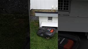Husqvarna Automower 310 Garage : entering garage husqvarna automower 310 robotic lawnmower ~ Watch28wear.com Haus und Dekorationen
