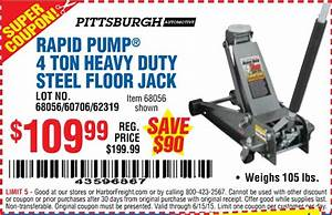 Pittsburgh Automotive Jack Replacement Parts