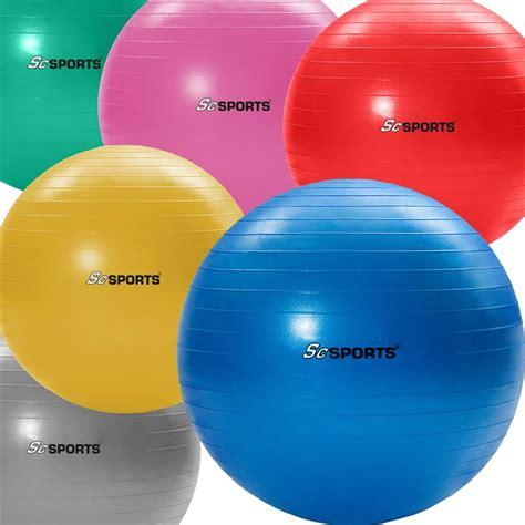 sitzball als bürostuhl gymnastikball in verschiedenen farben und gr 246 223 en scsports
