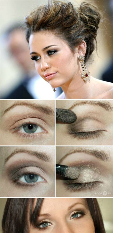 miley cyrus eye color how to do miley cyrusa fabulous smoky eye makeup zone