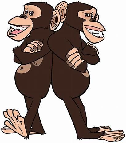 Madagascar Mason Phil Cartoon Clipart Julian Chimps