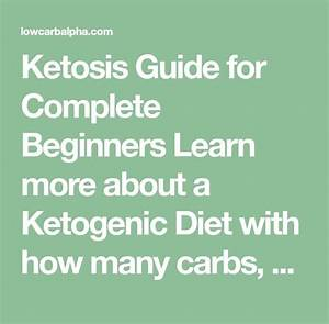 Ketosis Guide For Complete Beginners Learn More About A
