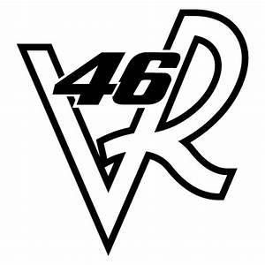 Valentino Rossi Logo : valentino rossi 46 vr logo decal ~ Medecine-chirurgie-esthetiques.com Avis de Voitures