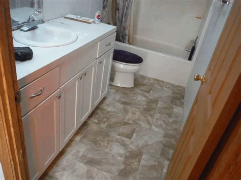 Repair Bathroom Floor by J L Warner Mobile Home Repair Lawn Care Snow Removal