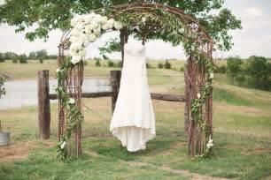 wedding altar decorations rustic grace estate