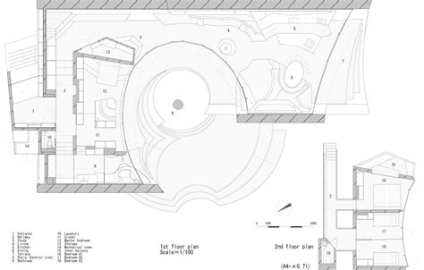 house plans design gallery of shell artechnic architects 40