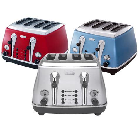 delonghi 4 slice toaster fly buys delonghi icona 4 slice toaster