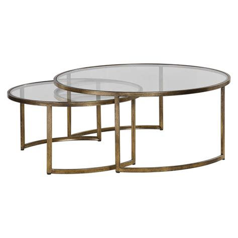 Uttermost Tables by Uttermost Rhea Nested Coffee Tables S 2