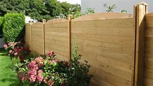 Faire Une Cloture En Bois : une nouvelle approche esth tique de la cl ture de jardin ~ Dallasstarsshop.com Idées de Décoration