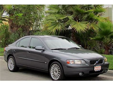 Volvo S60 2 4t by Sell Used 2003 Volvo S60 2 4t Sedan Low One Owner