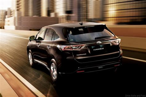 2015 toyota harrier toyota harrier 2015 model preview naza world drive