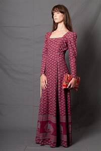 robe longue boheme seventies With robe ete boheme
