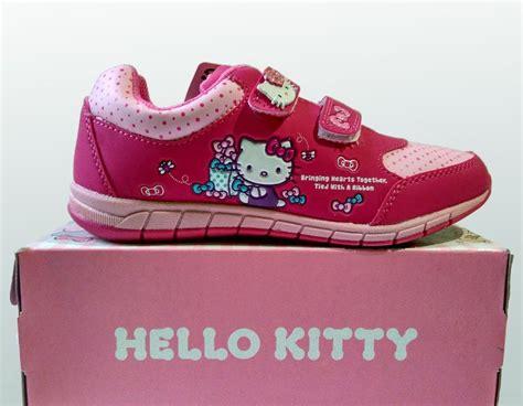 jual beli sepatu ando hello pink fuchsia sepatu
