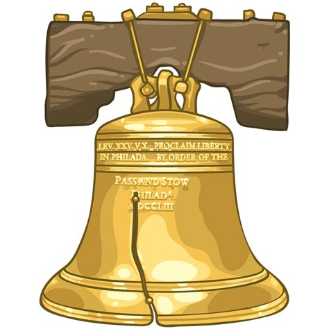 Liberty Bell Clipart Item Detail The Liberty Bell Itembrowser Itembrowser