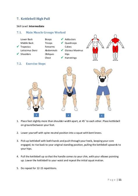 kettlebell muscle pull worked groups middle workout main lower trapezius exercises level exercise intermediate lat tips circuit workouts skill slideshare