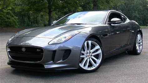 Jaguar F Type S 2016 jaguar f type s coupe 6 spd manual start up road